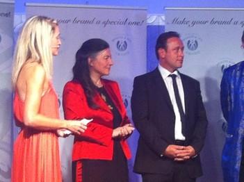 """brainLight beim """"European HEALTH SPA AWARD 2015"""" auf dem Siegerpodest"""