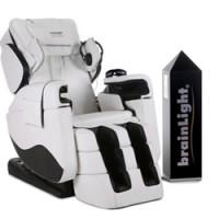 brainLight-Komplettsysteme - brainLight relaxTower mit 4D-Shiatsu-Massagesessel Zenesse
