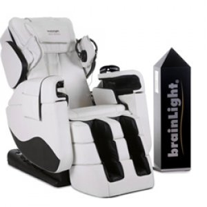 brainLight relaxTower mit 4D-Shiatsu-Massagesessel Zenesse