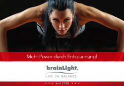 Entspann Dich fit mit brainLight
