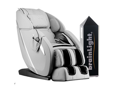 relaxTower PRO mit Shiatsu-Massagesessel flow