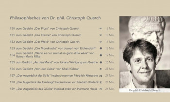 "Programmblock ""Philosophisches von Dr. Christoph Quarch"""