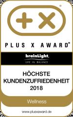 PLUS X AWARD 2018: Höchste Kundenzufriedenheit