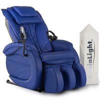 brainLight-Komplettsysteme - brainLight relaxTower mit Shiatsu-Massagesessel Gravity PLUS